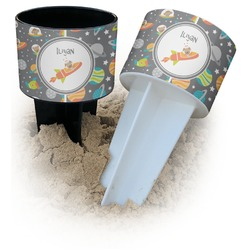 Space Explorer Beach Spiker Drink Holder (Personalized)