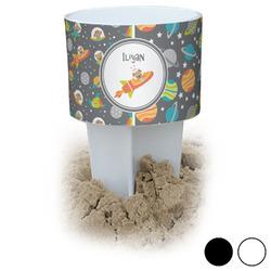 Space Explorer Beach Spiker Drink Holder (Personalized)