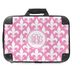 Fleur De Lis Hard Shell Briefcase (Personalized)