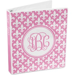 Fleur De Lis 3-Ring Binder (Personalized)