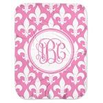 Fleur De Lis Baby Swaddling Blanket (Personalized)