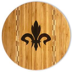 Fleur De Lis Bamboo Cutting Board (Personalized)
