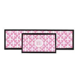 Fleur De Lis Bar Mat (Personalized)
