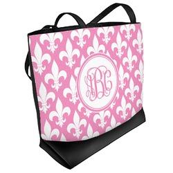 Fleur De Lis Beach Tote Bag (Personalized)