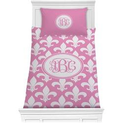 Fleur De Lis Comforter Set - Twin (Personalized)