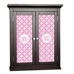 Fleur De Lis Cabinet Decal - Custom Size (Personalized)