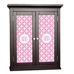 Fleur De Lis Cabinet Decal - Custom Size (Personalized)