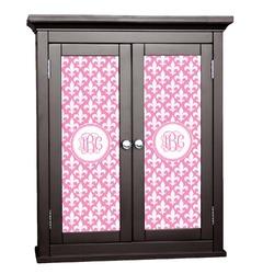 Fleur De Lis Cabinet Decal - Small (Personalized)
