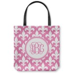 Fleur De Lis Canvas Tote Bag (Personalized)