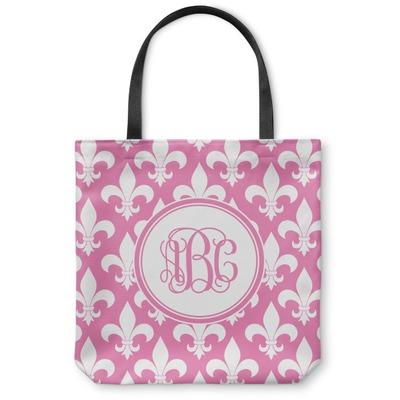 Fleur De Lis Canvas Tote Bag (Personalized)