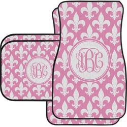 Fleur De Lis Car Floor Mats (Personalized)