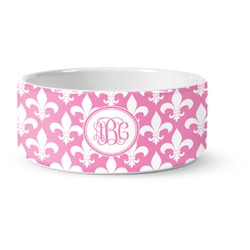 Fleur De Lis Pet Bowl (Personalized)