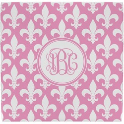 Fleur De Lis Ceramic Tile Hot Pad (Personalized)