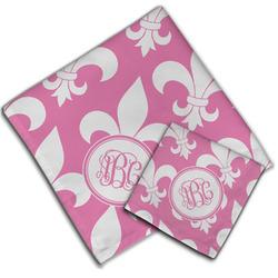 Fleur De Lis Cloth Napkin w/ Monogram