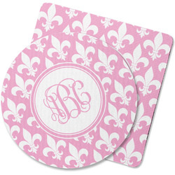 Fleur De Lis Rubber Backed Coaster (Personalized)