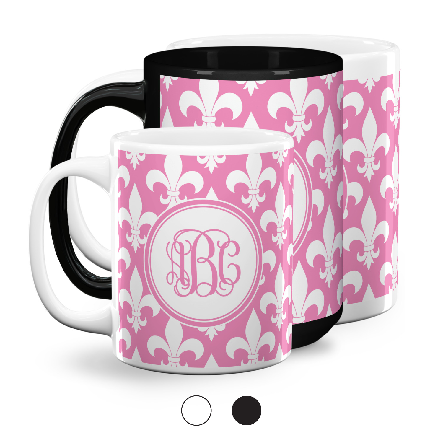 Fleur De Lis Coffee Mugs Personalized Youcustomizeit