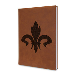 Fleur De Lis Leatherette Journal (Personalized)