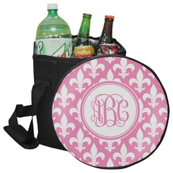 Fleur De Lis Collapsible Cooler & Seat (Personalized)