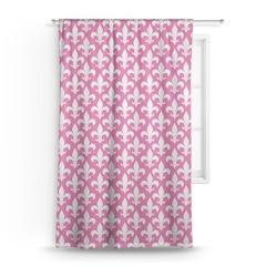 """Fleur De Lis Curtain - 50""""x84"""" Panel (Personalized)"""