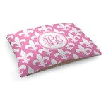 Fleur De Lis Dog Bed (Personalized)