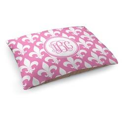Fleur De Lis Dog Pillow Bed (Personalized)