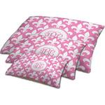 Fleur De Lis Dog Bed w/ Monogram