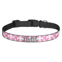 Fleur De Lis Dog Collar - Multiple Sizes (Personalized)