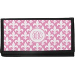 Fleur De Lis Canvas Checkbook Cover (Personalized)