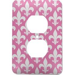 Fleur De Lis Electric Outlet Plate (Personalized)