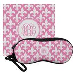 Fleur De Lis Eyeglass Case & Cloth (Personalized)