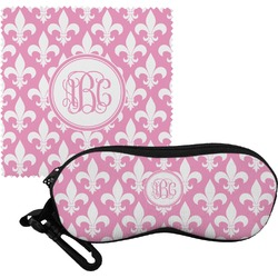 Fleur De Lis Eyeglass Case & Cloth (Personalized)