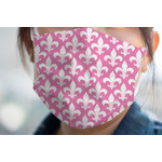 Fleur De Lis Face Mask Cover (Personalized)