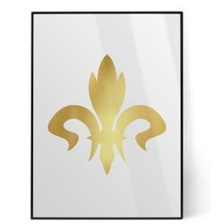 Fleur De Lis Foil Print (Personalized)