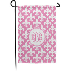 Fleur De Lis Garden Flag - Single or Double Sided (Personalized)