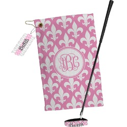 Fleur De Lis Golf Towel Gift Set (Personalized)