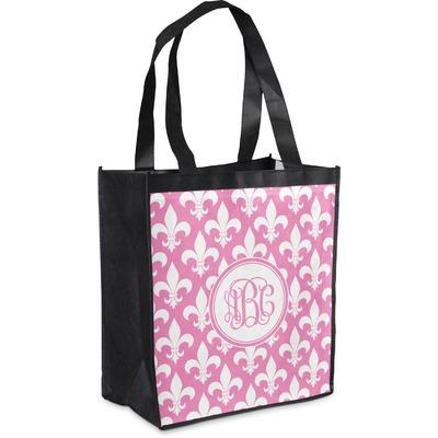 Fleur De Lis Grocery Bag (Personalized)