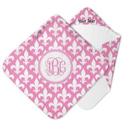 Fleur De Lis Hooded Baby Towel (Personalized)
