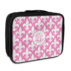 Fleur De Lis Insulated Lunch Bag (Personalized)