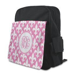 Fleur De Lis Preschool Backpack (Personalized)