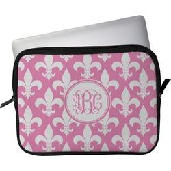 """Fleur De Lis Laptop Sleeve / Case - 12"""" (Personalized)"""