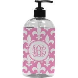 Fleur De Lis Plastic Soap / Lotion Dispenser (Personalized)