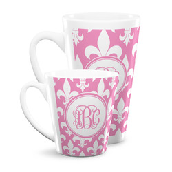 Fleur De Lis Latte Mug (Personalized)