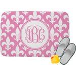 Fleur De Lis Memory Foam Bath Mat (Personalized)