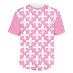 Fleur De Lis Men's Crew T-Shirt (Personalized)