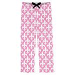 Fleur De Lis Mens Pajama Pants (Personalized)