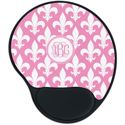 Fleur De Lis Mouse Pad with Wrist Support