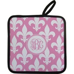 Fleur De Lis Pot Holder (Personalized)