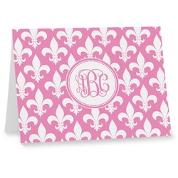 Fleur De Lis Note cards (Personalized)