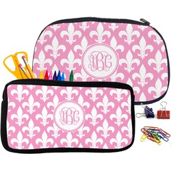 Fleur De Lis Neoprene Pencil Case (Personalized)