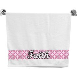 Fleur De Lis Bath Towel (Personalized)